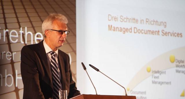 Hamburg-News.NET - Hamburg Infos & Hamburg Tipps | Auf der CeBIT 2012 stellt UTAX seine MDS-Strategie für den Fachhandel vor.