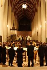 Ost Nachrichten & Osten News | Foto: Kammerchor Josquin des Préz in der Thomaskirche Leipzig.
