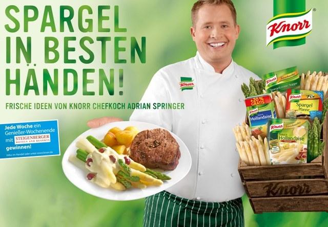 Hotel Infos & Hotel News @ Hotel-Info-24/7.de | Knorr - Spargel in den besten Händen!