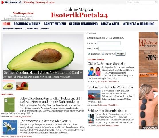 Berlin-News.NET - Berlin Infos & Berlin Tipps | Das neue große Esoterikportal24.de - das Spirituelles Onlinemagazin