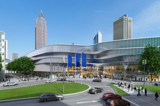 Asien News & Asien Infos & Asien Tipps @ Asien-123.de | Skyline Plaza im Europaviertel an der Messe Frankfurt/Main: Das Grand Hyatt Hotel eröffnet im Herbst 2014