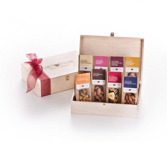 Thailand-News-247.de - Thailand Infos & Thailand Tipps | wellnuss Premium Snacks - Geschenkbox