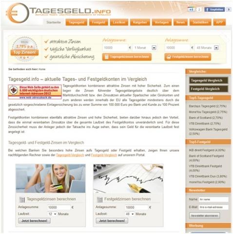 kostenlos-247.de - Infos & Tipps rund um Kostenloses | Tagesgeld.info - Tagesgeld und Festgeld im Überblick