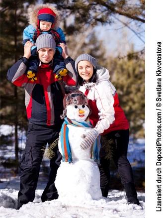 Babies & Kids @ Baby-Portal-123.de | Endlich Schnee! Die weiße Pracht hat lange auf sich warten lassen