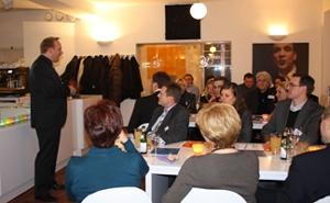 Frankreich-News.Net - Frankreich Infos & Frankreich Tipps | ChefCoach Kamingespräch im Stuttgarter Restaurant Kleinigkeit am 10. Feb. 2012
