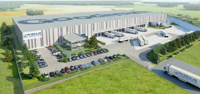 Grossbritannien-News.Info - Großbritannien Infos & Großbritannien Tipps | Visualisierung des Logistikzentrums für Rhenus in Linsengericht