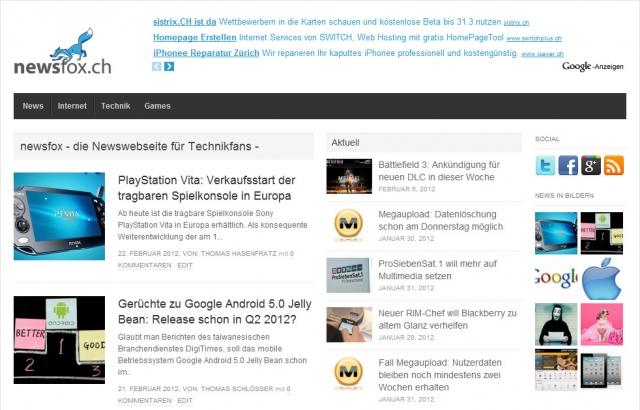 Auto News | newsFox.ch - die Nachrichtenseite für schlaue Füchse