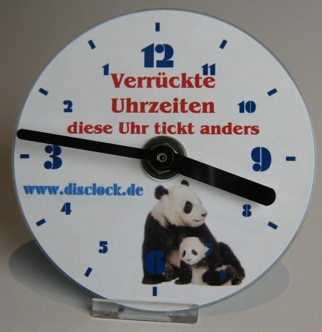 Ostern-247.de - Infos & Tipps rund um Geschenke | Links- und rechtsdrehende Disclock CD Uhren zum Selberbasteln