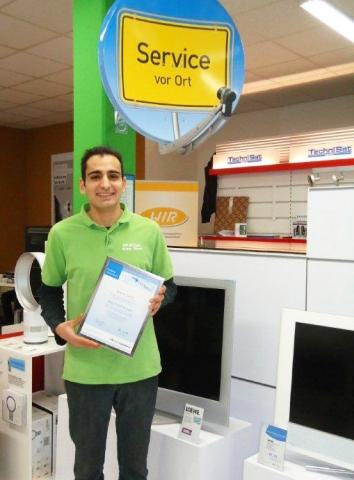 Rheinland-Pfalz-Info.Net - Rheinland-Pfalz Infos & Rheinland-Pfalz Tipps | Ibrahim Sirimsi freut sich über die Auszeichnung vom Garantie-Dienstleister Wertgarantie