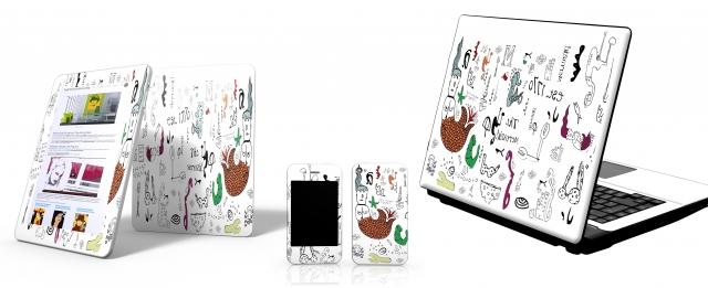 Ostern-247.de - Infos & Tipps rund um Ostern | Pop-Art-Skins für Notebook, PC, Handy, Organizer, Digitaldruckfolien