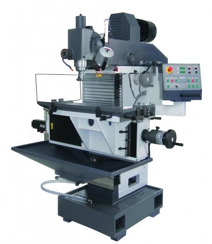 Die Universal-Werkzeugfräsmaschinen FNX 30 P sowie FNX 30 NC von AVIA überzeugen durch ihre starke Antriebsleistung von 5,5 Kilowatt, ihre dreiachsige Linearführung sowie große Verfahrwege bis zu 400 Millimetern.