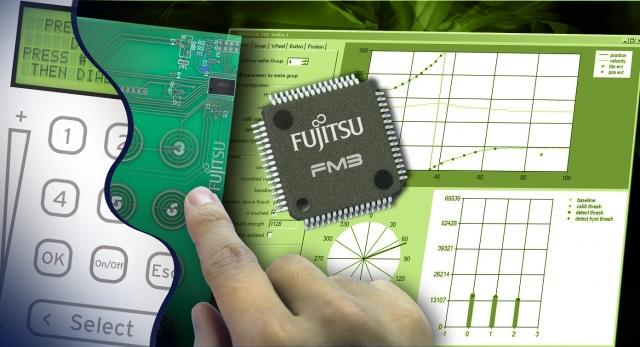 Rom-News.de - Rom Infos & Rom Tipps | Mit FM3touch von Fujitsu werden modernste Mensch-Maschine-Schnittstellen mit kapazitiver Touch Funktionalität möglich.