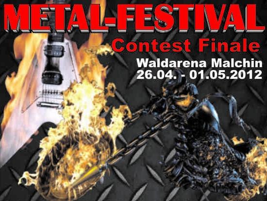 Metal Contest zum 19. Motorradtreffen in Malchin