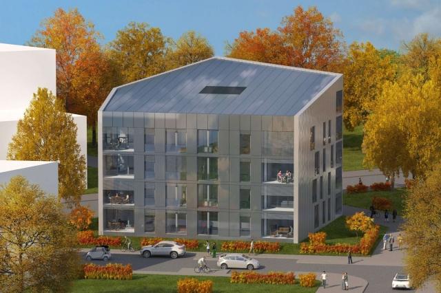 Auto News | Das Plus-Energie-Haus der Nassauischen Heimstätte entsteht im Frankfurter Stadteil Riedberg.