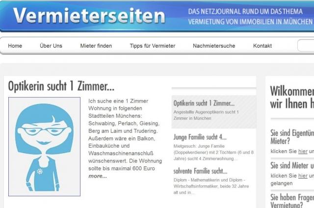 Kleinanzeigen News & Kleinanzeigen Infos & Kleinanzeigen Tipps | Wohnung finden München: jetzt leichter mit www.Traumwohnung-finden.de, der Mieterbörse von Vermietspezialist