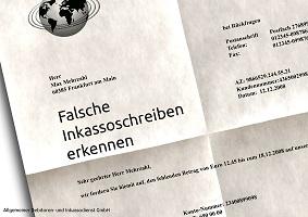 Flatrate News & Flatrate Infos | Falsche Inkassoschreiben erkennen