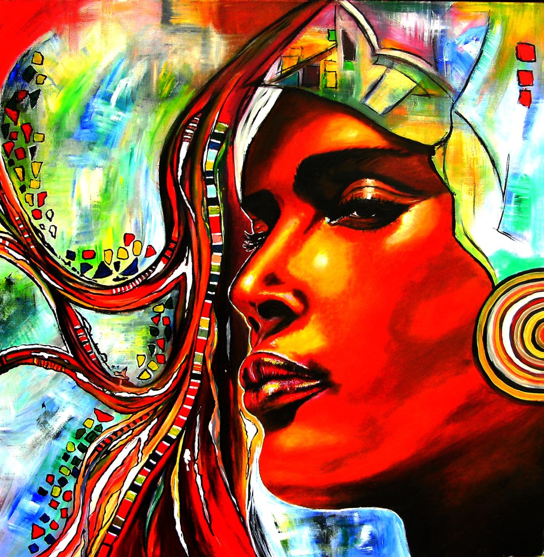 Original Künstler Gemälde - modernes Acrylbild