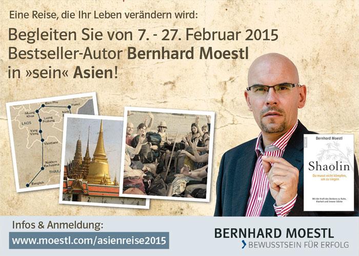 Oesterreicht-News-247.de - Österreich Infos & Österreich Tipps | Asienreise 2015 mit Bernhard Moestl