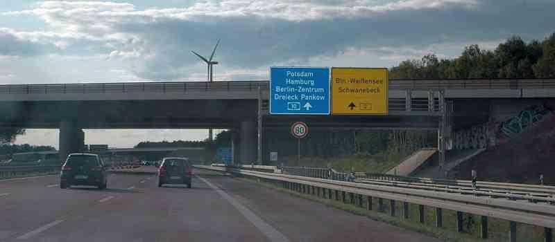 Deutsche-Politik-News.de | Autobahn bei-Berlin 2017