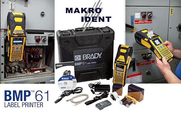 Freie Pressemitteilungen | Brady BMP61: Tragbarer Hochleistungs-Etikettendrucker