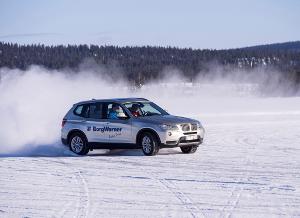 BorgWarner erprobt seine fortschrittlichen AWD- und FXD-Technologien in der Nähe des Polarkreises.