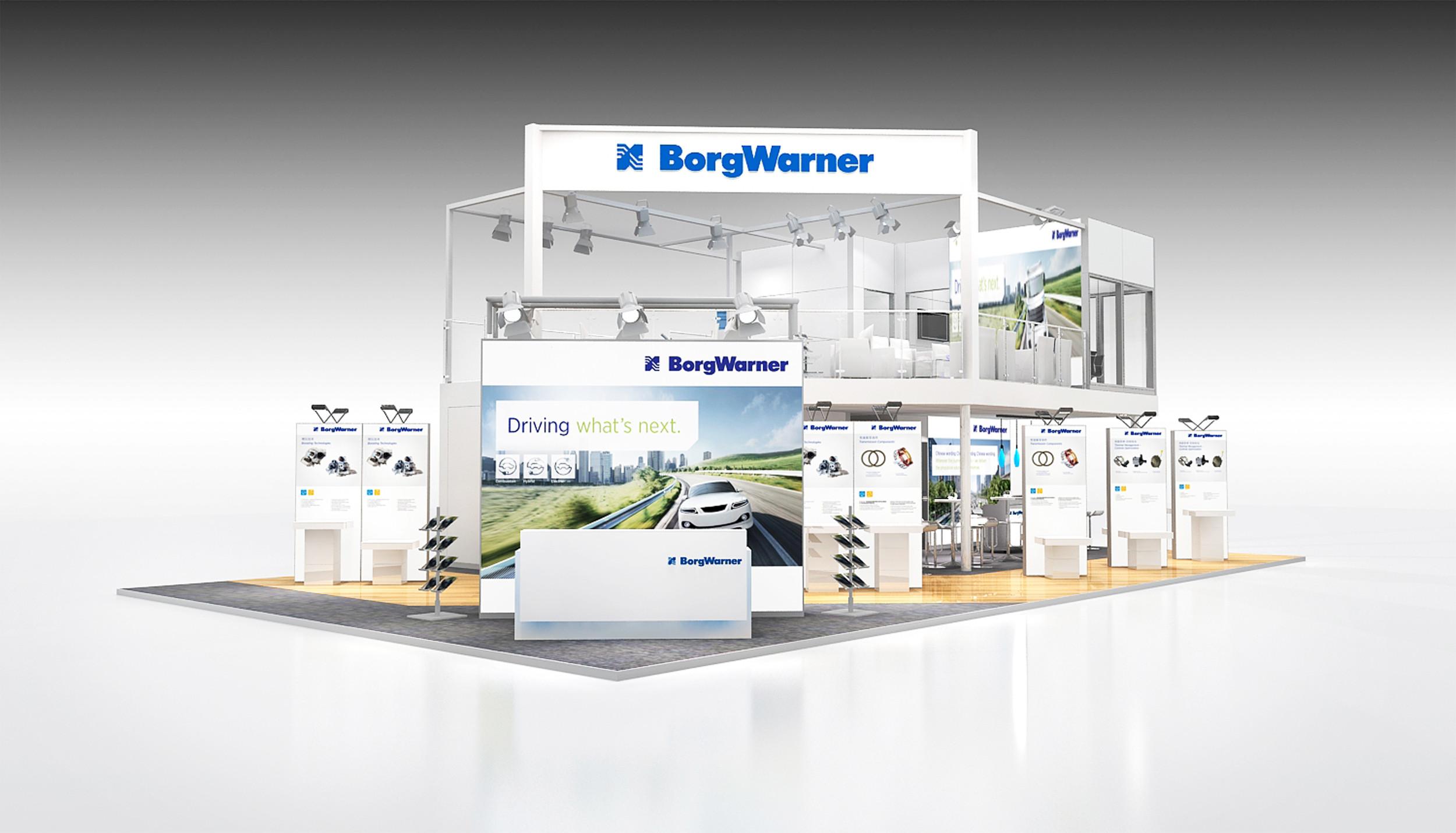 Mit Fokus auf aktuelle Trends des chinesischen Marktes präsentiert BorgWarner auf der Auto Shanghai 2017 sein umfangreiches Portfolio an Lösungen für Fahrzeuge mit Verbrennungsmotor, Hybrid- und Elektroantrieb.  | Freie-Pressemitteilungen.de
