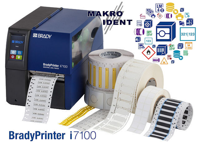 Internet Portal Center | BradyPrinter i7100: Leistungsstarker, präziser Etikettendrucker