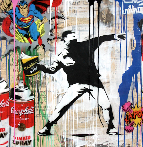 Berlin-News.NET - Berlin Infos & Berlin Tipps | Mr. Brainwash: Banksy Thrower (2017)