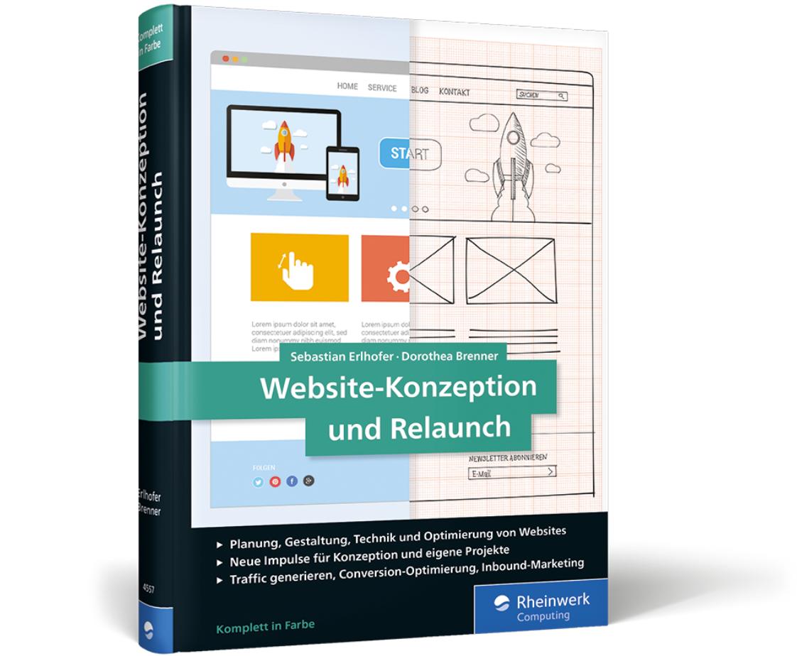 News - Central: Website-Konzeption und Relaunch. Praxisratgeber von Erlhofer und Brenner.