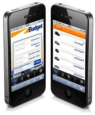 Auto News | Budget erhält eigene mobile Website