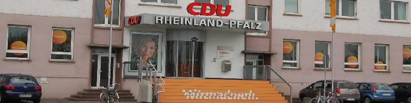 Deutsche-Politik-News.de | CDU-Zentrale Rheinland-Pfalz in Mainz 2015