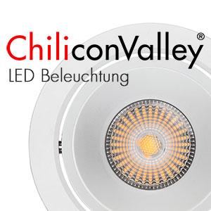 LED Leuchten von ChiliconValley finden Einzug in alle Bereiche der Innen- und Aussen-Beleuchtung