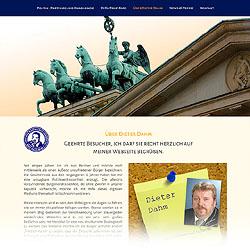 Responsive Website unter der Domain parteilose-politik.de