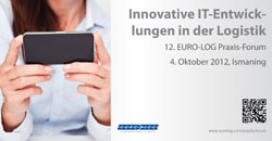 App News @ App-News.Info | Nähere Informationen zum 12. EURO-LOG Praxis-Forum am 4. Oktober 2012 finden Sie unter www.eurolog.com/praxis-forum
