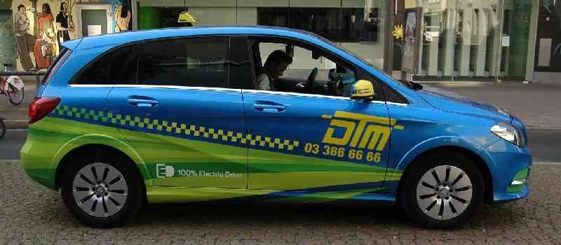 Deutsche-Politik-News.de | Elektro-Taxi Antwerpen 2016