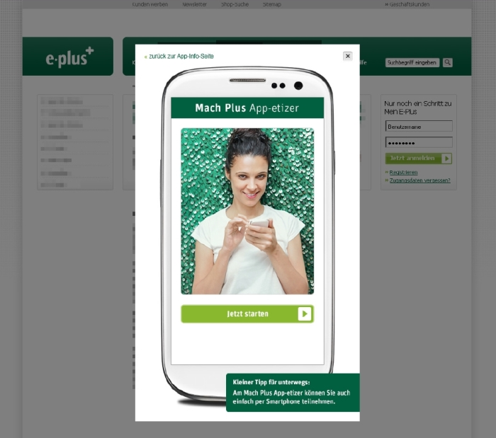 E-Plus App-etizer: Kostenlose App-Tipps für den Start ins mobile Leben!