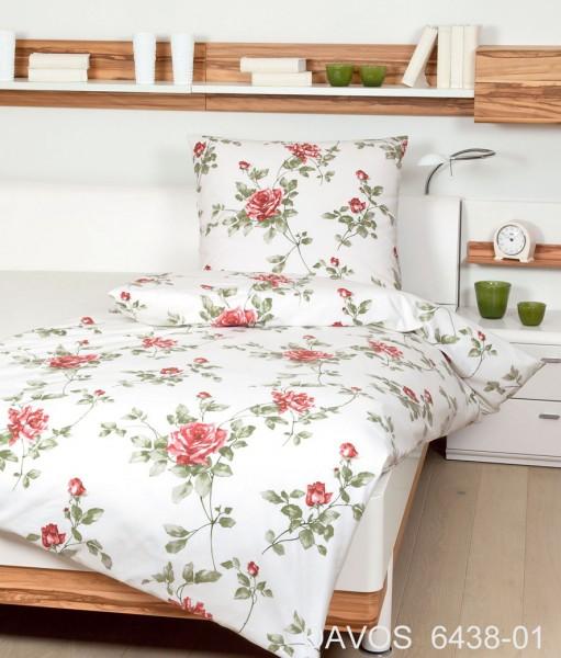 Musik & Lifestyle & Unterhaltung @ Mode-und-Music.de | Janine Biber-Bettwäsche mit floralem Dessin aus der aktuellen Kollektion