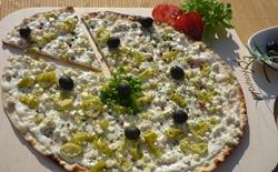 Griechenland-News.Net - Griechenland Infos & Griechenland Tipps | Flammkuchen griechischer Art