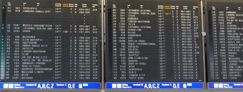 Deutsche-Politik-News.de | Flughafen Frankfurt-Main 2016