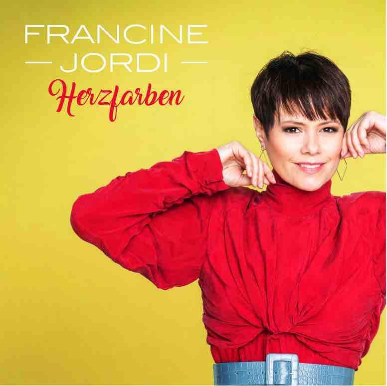 Deutsche-Politik-News.de | Francine Jordi - Cover Herzfarben-Meine Best of