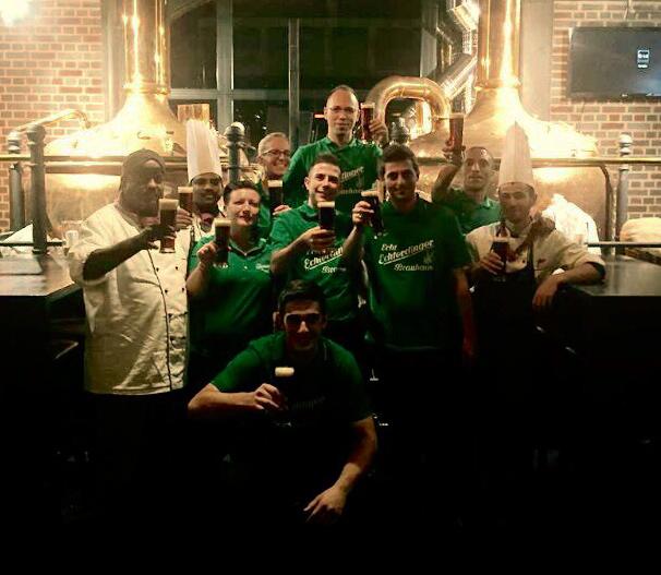 Das Krautfest-Team im Echterdinger Brauhaus