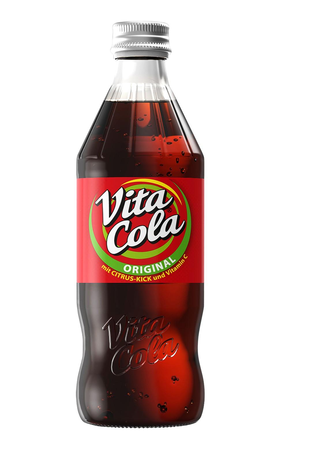 Vita Cola Original in neuer 0,33 l Glasmehrwegflasche | Freie-Pressemitteilungen.de
