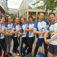 Gruppenfoto Parkhotel Pforzheim-Laufteam