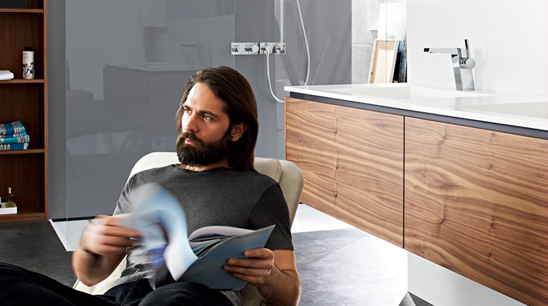Ideal für architekturorientierte Designliebhaber: die HANSALOFT. Foto: Hansa Armaturen GmbH   | Freie-Pressemitteilungen.de