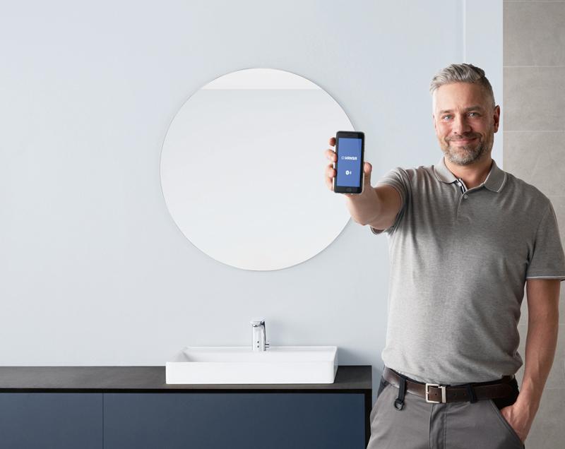 Digitales Handwerk: HANSA ist bereit für smarte Installateure. Foto: Hansa Armaturen GmbH   | Freie-Pressemitteilungen.de