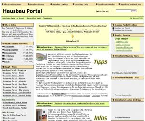 Open Source Software News | Hausbau & Einfamilienhaus