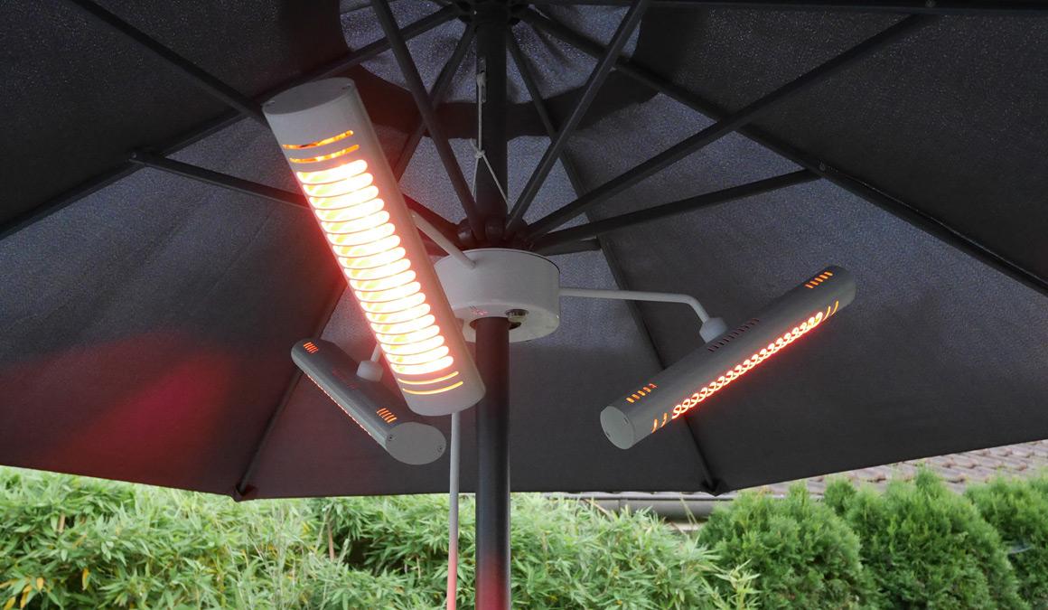 VASNER Umbrella X30 Sonnenschirm-Heizstrahler | Freie-Pressemitteilungen.de