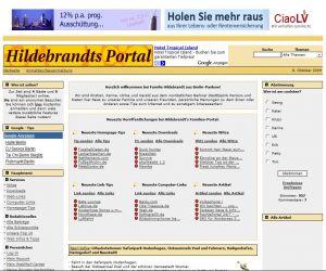 PHPNuke Service DE - rund um PHP & Nuke | PHPNuke Service DE - Foto: Screen-Shoot Hildebrandt-in-Berlin.de .