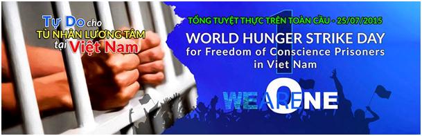 Auto News | Welthungerstreik für die Freiheit der Gewissensgefangenen in Vietnam