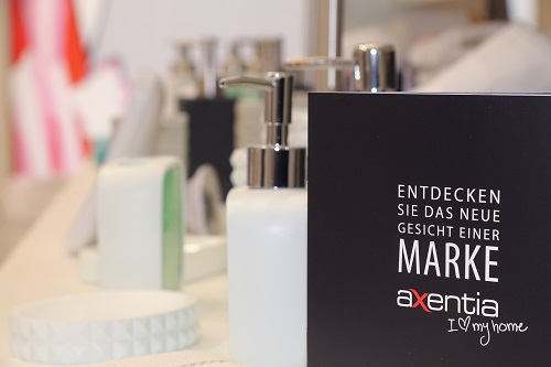 Ambiente 2017: Starke Axentia-Markenpräsentation von Testrut | Freie-Pressemitteilungen.de